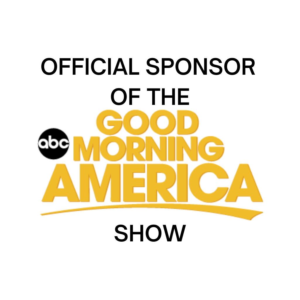 The Official Sponsor of The Good Morning Amercia Show